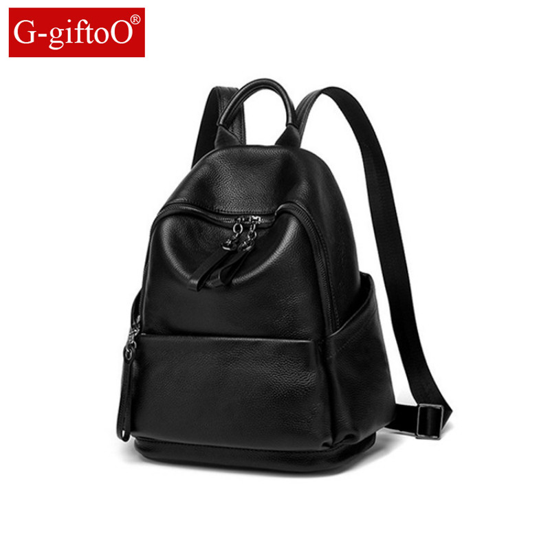 Fashion Color 100% Genuine Leather Casual Womens Backpacks Casual Travel Knapsack Laptop Bag Ladies Pocket Girl SchoolbagFashion Color 100% Genuine Leather Casual Womens Backpacks Casual Travel Knapsack Laptop Bag Ladies Pocket Girl Schoolbag