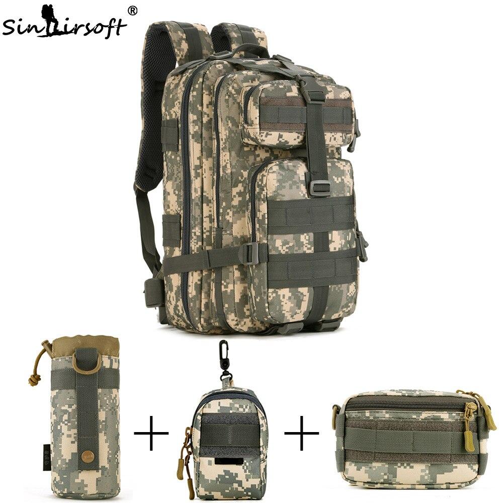 SINAIRSOFT 30L 40L 3P охотничий рыболовный Змеиный тактический рюкзак военный походный рюкзак спортивные туристические рюкзаки S410/S411 - 5