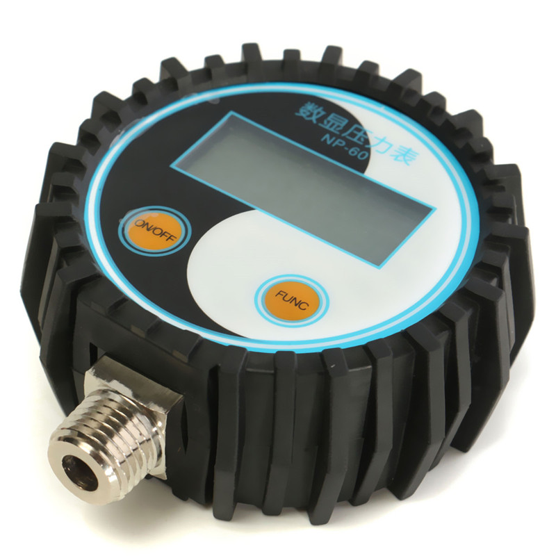 0-10bar//0-145psi G1//4 Battery-Powered Digital Pressure Gauge Pressure Tester