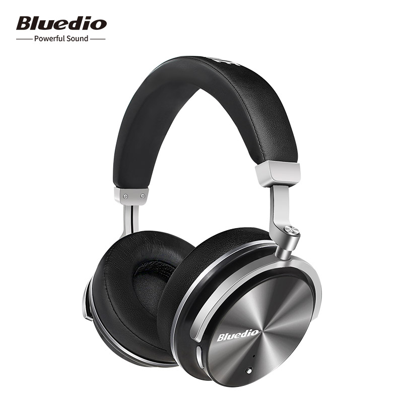 Bluedio T4 Active Noise Cancelling headphones Wireless Bluetooth Headset with microphones for phones iphone xiaomi phones