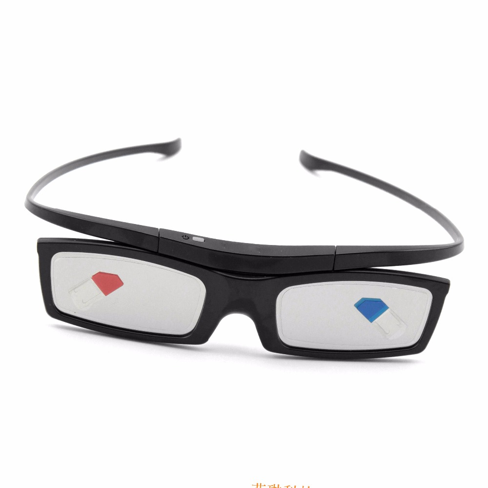 2017 Nuevo Bluetooth 3D obturador activo Gafas reemplazo para Samsung ssg-5100gb 3 DTV TV universal cartón envío libre