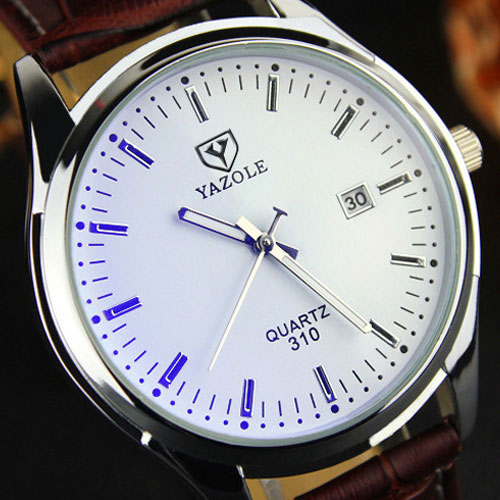 2019 YAZOLE Business Watch Men Watches Quartz Watches For Men Casual Leather Clock Male Bracelet Wristwatch Hours Reloj Hombre