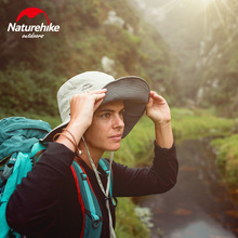 Naturehike UPF50+ Fishing Cap Quick Drying Hat Sunblock Foldable Double Sides Portable Storage Camping Outdoor