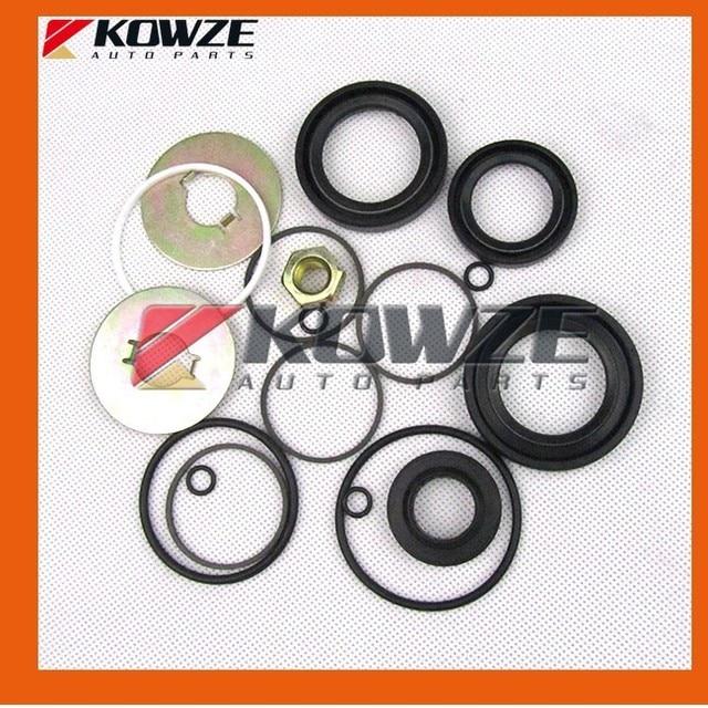 US $17 95 |Power Steering Gear Rack Box Repair Seal Kit for Mitsubishi  Pajero Montero Shogun 3 III 4 IV MR510275 MN103373-in Steering Racks & Gear