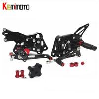KEMiMOTO For KTM Duke RC 390 125 200 2011 2012 2013 2014 Foot Rest Adjustable Rearsets Rear Set Pedal for KTM 125 200 390