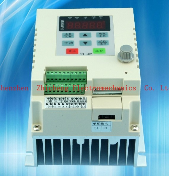 2.2KW 220V AC Frequency Inverter VFD single-phase input single phase output