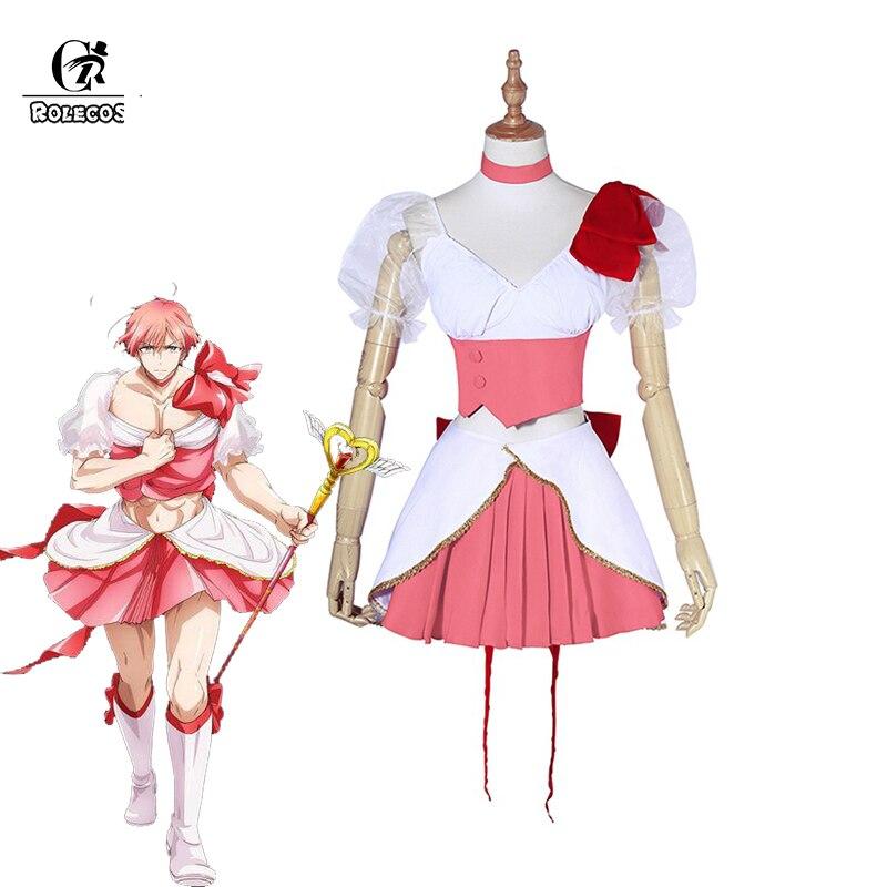 ROLECOS Magische Meisje Erts Saki Uno Cosplay Kostuum Saki Uno - Carnavalskostuums