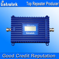 Lintratek 3G Repeater 2100 UMTS Mobile Repeater 70dB Gain Signal Booster LCD Display 3G Amplifier 2100MHz