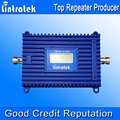 Lintratek Nuevo Pantalla LCD Repetidor Repetidor 3G 2100 MHz 3G amplificador de Señal amplificador de 70dB de Ganancia AGC Amplificador 3G 2100 Amplificador de Señal UMTS S35