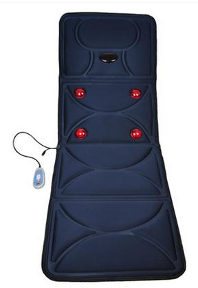 Electric massage mattress multifunctional massage device massage cushion full-body equipment, massage mattress multifunctional heated massage cushion massage mat full body lumbodorsal massage device