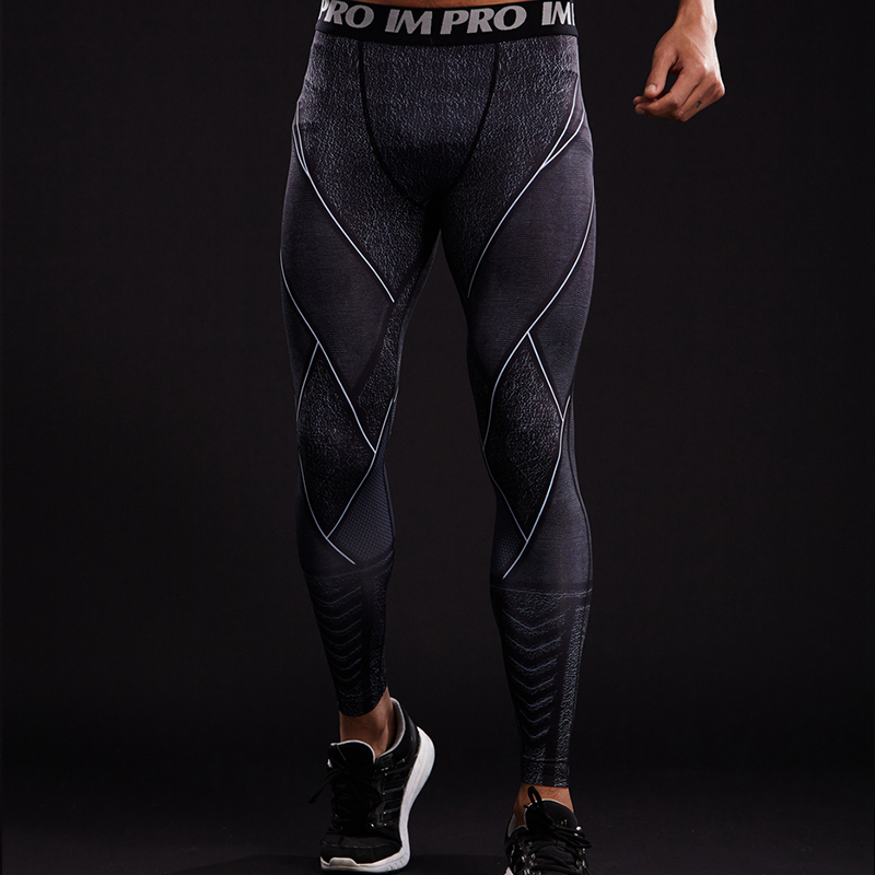 Skinny Compression Pants Men FLASH 3D Printed Skin Tights Bodybuilding Fitness Jogger Legging Crossfit Trousers Male Marvel