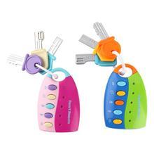 Jouet éducatif pour enfants, clé vocale de voiture, télécommande intelligente, faire semblant de parler, musique, pour bébé