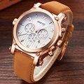 2017 Mens Relógios Top Marca de Luxo Analógico Mostrador do Relógio Marca de Relógios Em Aço Inoxidável Homens Relógio de Quartzo-GIMTO Montre Homme