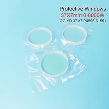 Волокно лазерные защитные окна и режущих головок Precitec керамические ОГ YD37 d7 37*7 мм P0595-58601 0-6000 Вт для режущих головок precitec Procutter головка Ermaksan