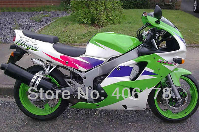 Hot Sales,94 95 96 97 ZX-6R 1994 1995 1996 1997 Fairing kit For kawasaki Ninja ZX6R 1994-1997 Multi-color Motorcycle Fairing