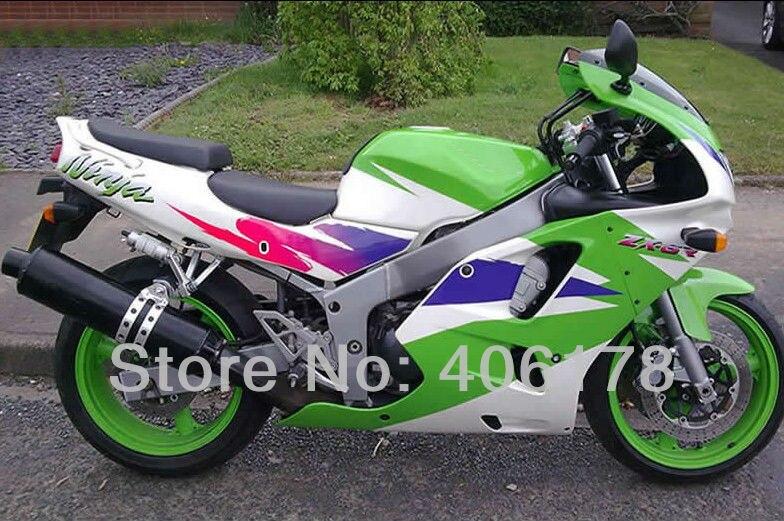 Лидер продаж, 94 95 96 97 ZX-6R 1994 1995 1996 1997 обтекатель комплект для kawasaki Ninja ZX6R 1994-1997 Multi- цвет мотоцикла обтекатель