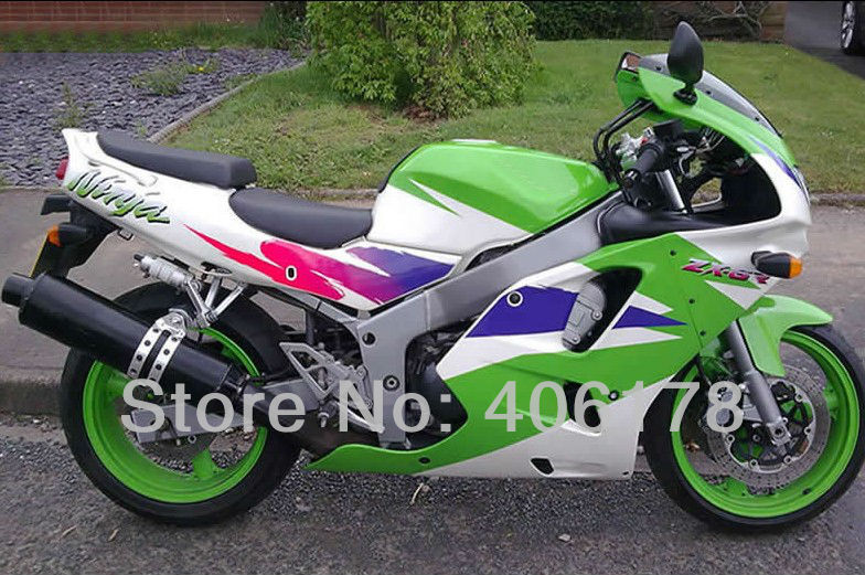 Ventas calientes, 94 95 96 97 ZX-6R 1994 1995 1996 1997 kit de carenado para kawasaki Ninja ZX6R 1994-1997 color motocicleta carenado