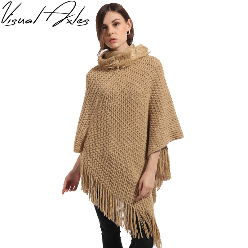 Plus Size Women Knitted Sleeveless Pullovers Sweater ...