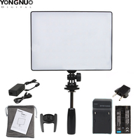 Hot YongNuo Official YN300 Air YN 300 Air Pro LED Camera Video Light with Battery Charger kit photography Light +AC power adapte