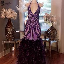 890170c77c Buy purple mermaid prom dress and get free shipping on AliExpress.com