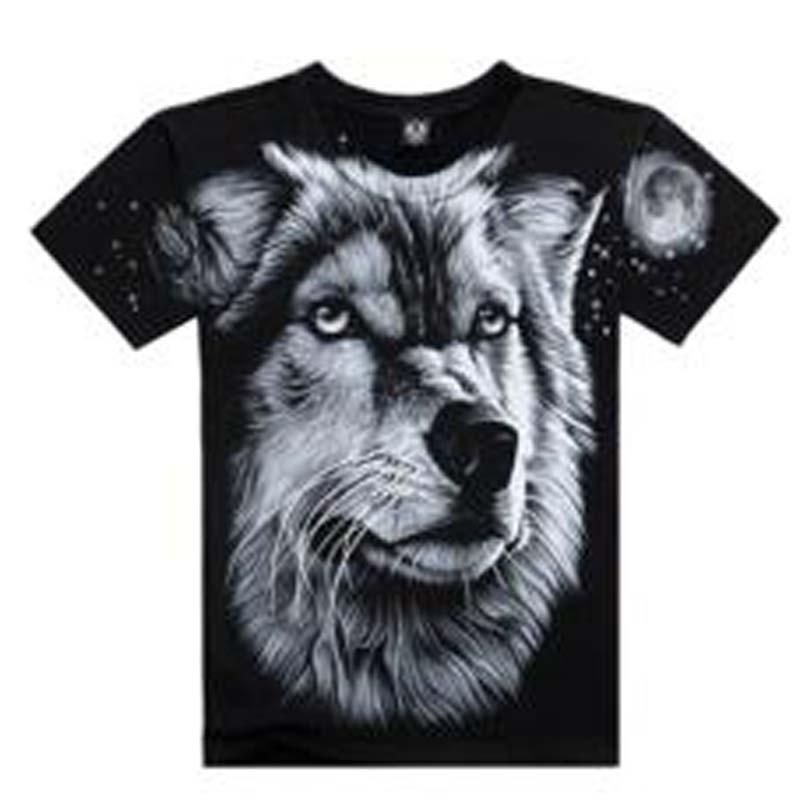 Nieuwe T-shirts Cool 2016 Fashion heren Katoenen Mouw 3D Gedrukt - Herenkleding - Foto 6