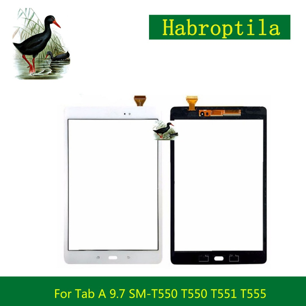 10Pcs/lot 9.7 For Samsung Galaxy Tab A 9.7 SM-T550 T550 T551 T555 Touch Screen Digitizer Sensor Front Outer Glass Lens Panel