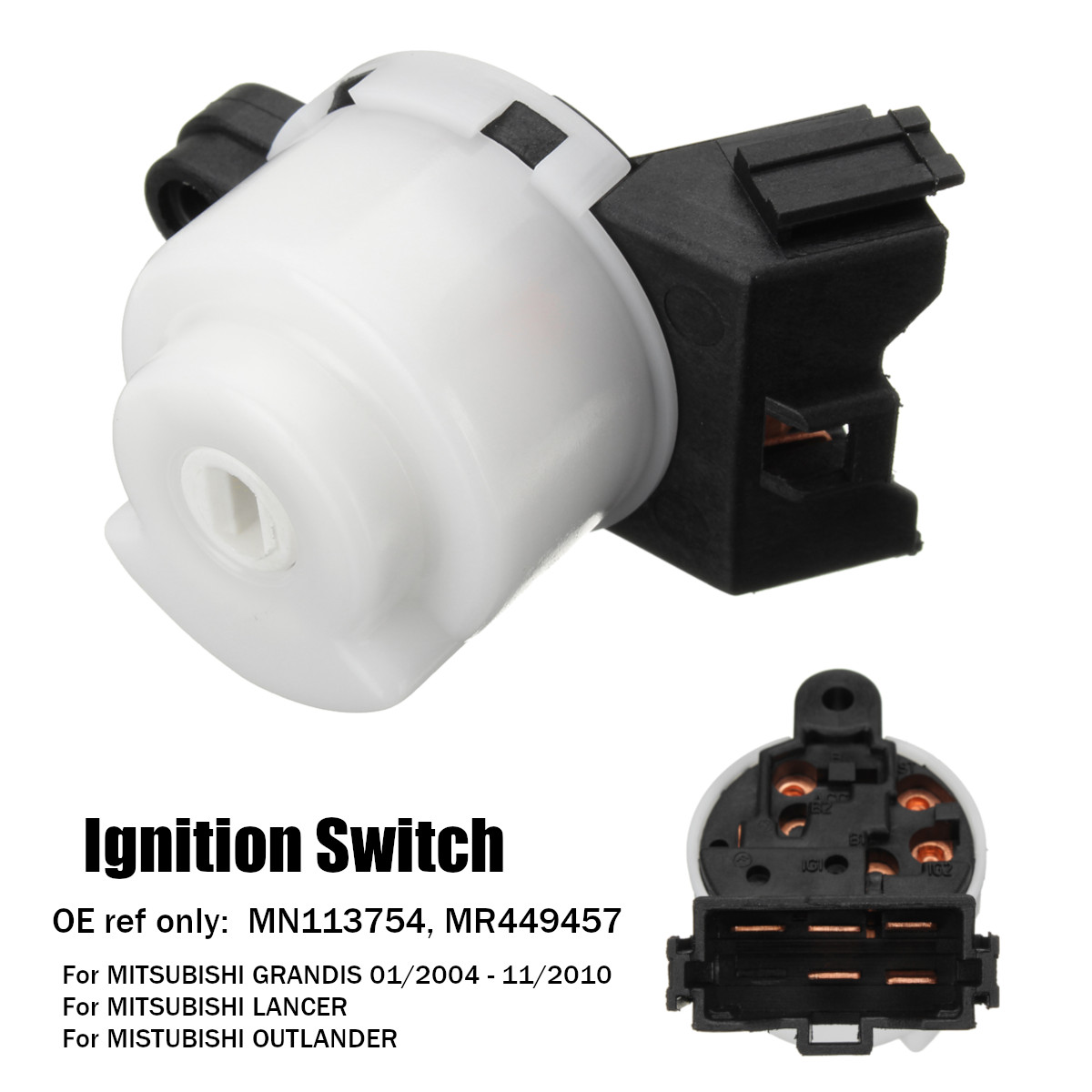 5 pins Ignition Starter Switch for MITSUBISHI GRANDIS LANCER OUTLANDER 2004 - 2010 MN113754 MR449457 MN 113754