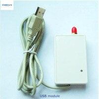 KYL-U20L rf приемник передатчик USB 433 мГц 1 Вт РФ модуль USB 868 мГц 913 мГц приемопередатчик модуль 2 км диапазон