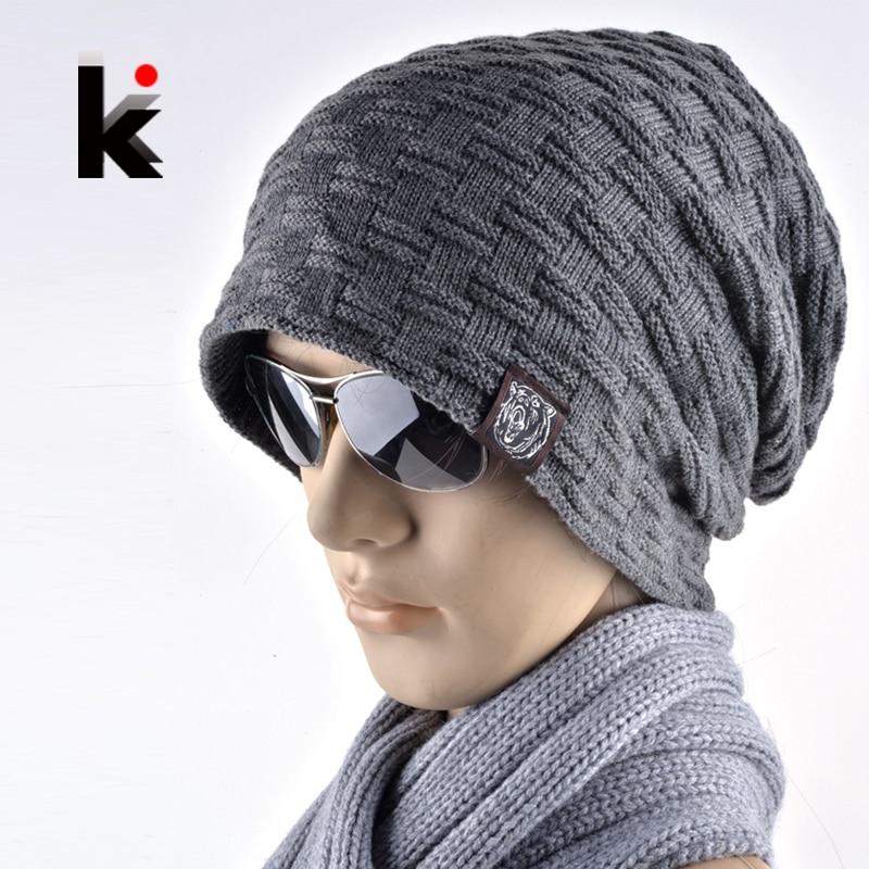 Men//Women Heartbeat Fish Outdoor Warm Knit Beanies Hat Soft Winter Skull Caps
