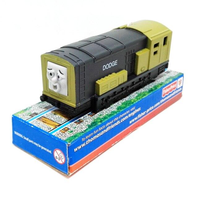T0204b Электрический Томас и друг Dodge С оригинальной упаковке Упакованы Trackmaster двигатель Моторизованный поезд дети пластиковые игрушки