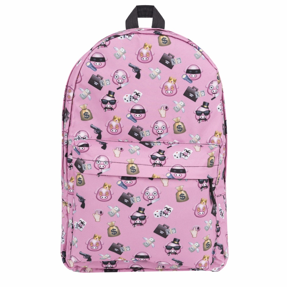 2017 fashion laptop male&female Backpack Youth Schoolbags for Teenager Girls Boy unicorn bag printing bagpack school waterproof