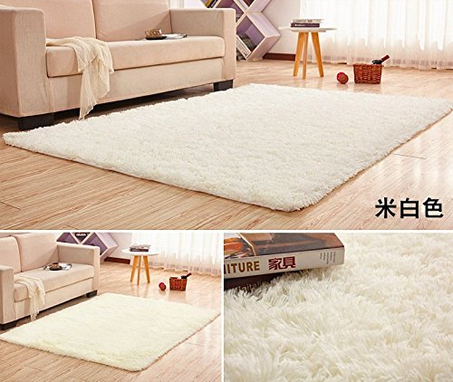 Us 99 20 Off Extra Large Size 200x400cm Silk Wool Rug For Living Room Area Soft Carpet Bedroom Plush Shaggy Thicken In