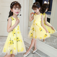 a939c9e5d2dc0e Summer Dress Girls Princess Girls Dress Mesh Kids Dresses 6 8 12 Years  Flowers Children S. US  14.64 US  13.18. Zomer Jurk Meisjes Prinses Mesh  Kids Jurken ...