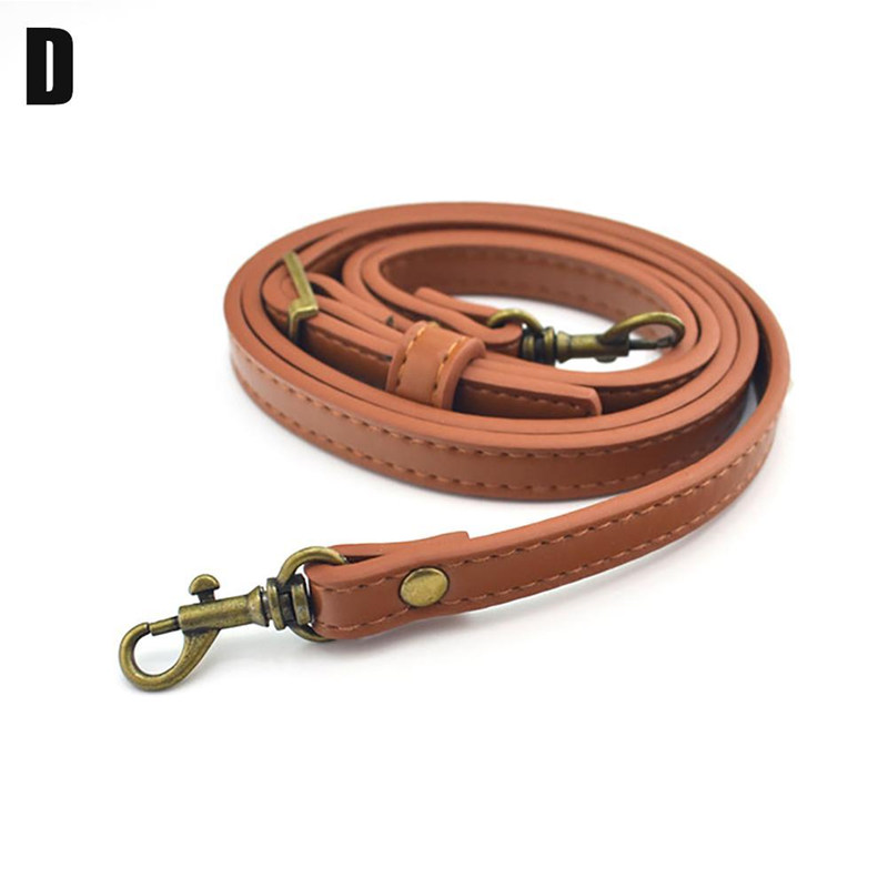 1PC PU Leather bag Strap 110-120cm Adjustable Shoulder messenger Bag Strap travel Accessories Handbags Strap 6 colors DIY Belt