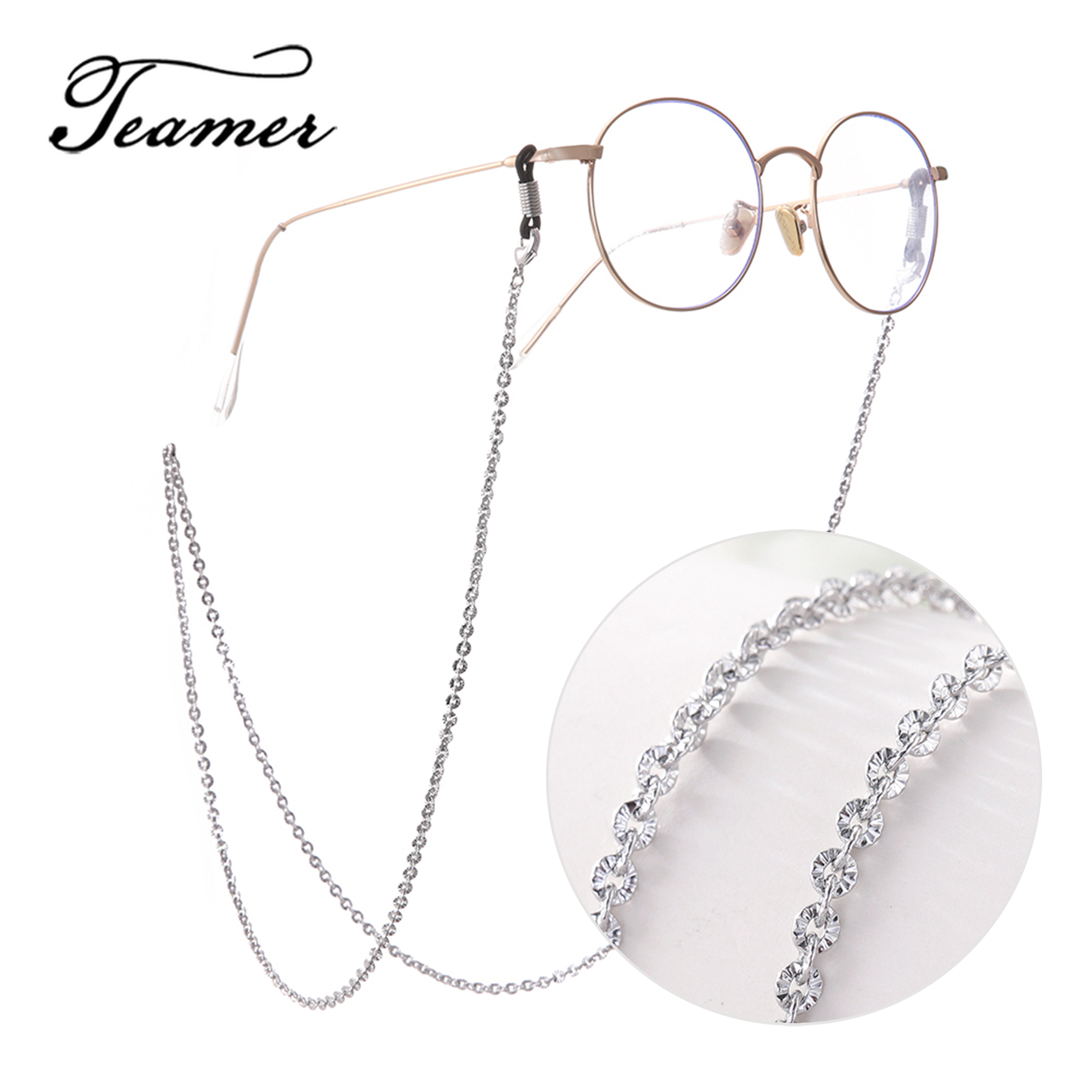 Teamer 78 Fashion Metal Glasses Chain For Women   Sunglasses Chain Strap Neck Holder Lanyard Eye Glasses Accessories