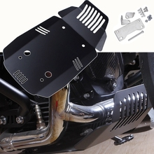 Black Aluminum Engine Guard Skid Plate Bash Protector For BMW R NINE T R9T 2014 2015 2016 2017 2018 Motorcycle Accessories Parts