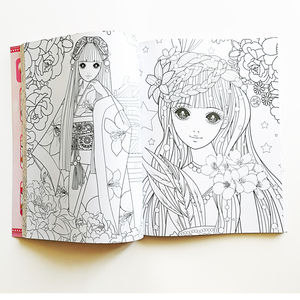 Image 5 - Joli livre de coloriage princesse I (environ 200Princesses), pour enfants/enfants/filles/adultes, livre dactivité, grande taille