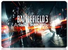 Battlefield 3 padmouse individual professional mousepad gaming mouse pad gamer large notbook computer mouse mat laptop play mats