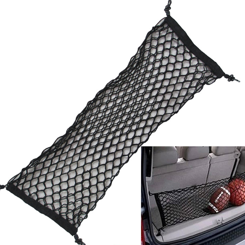 HOT New Car Nylon Elastic Mesh Net Car Hatchback Bakre Bagage Bagage Lagring Arrangör