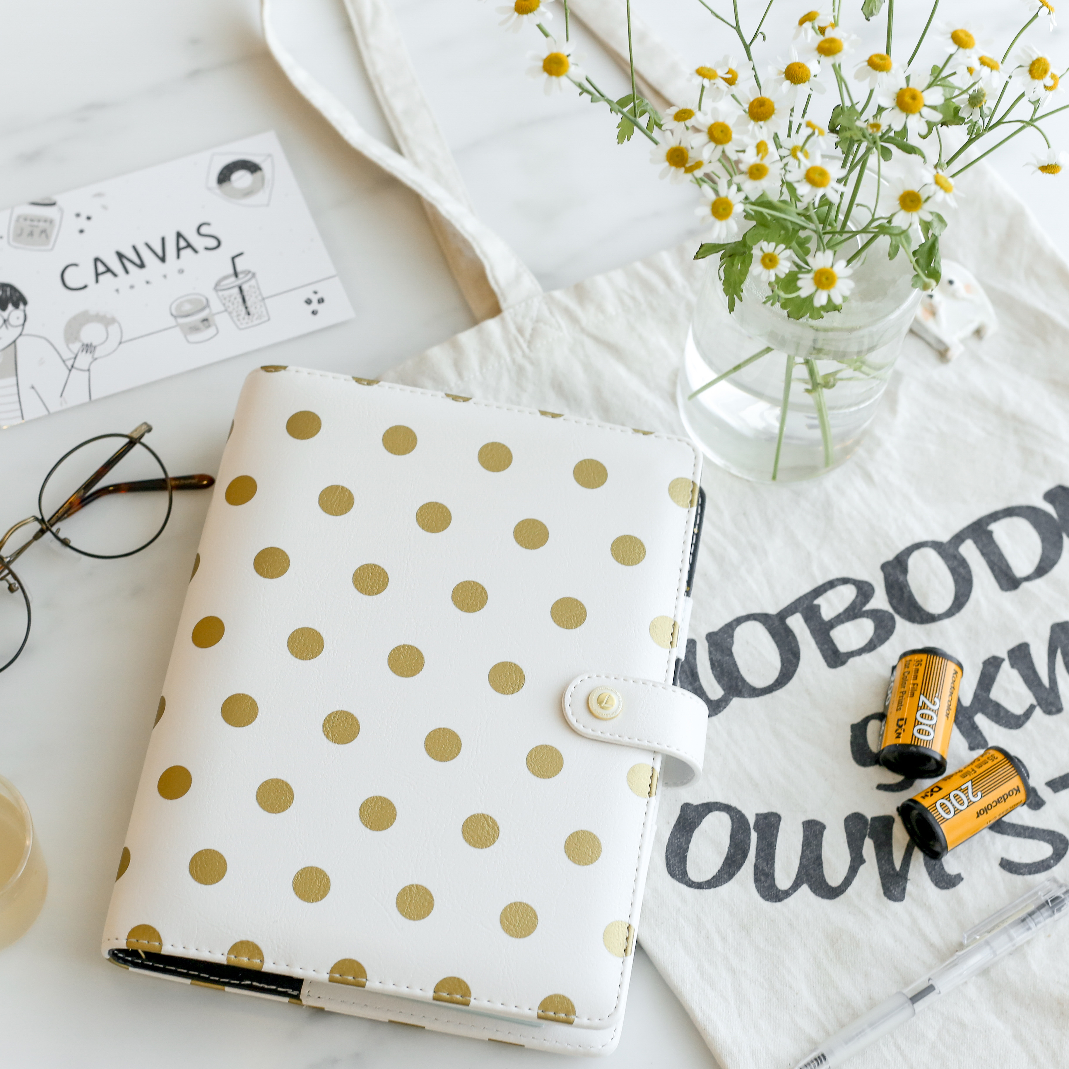 Lovedoki Snow Kawaii Notebooks And Journals A5 Spiral Planner Organizer Diary Creative Gift Stationery School Student Supplies