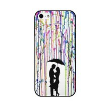 Hard Case with Romantic Design for iPhone