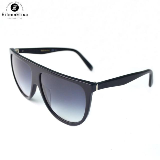 e2a4a001d07df EE Vintage Zonnebril Vrouwen Klassieke Oversized Acetaatkader Gradient  Zonnebril met Verpakking Doos Oculos De Sol Masculino