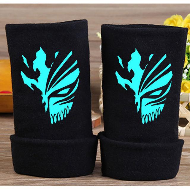Hollow Ichigo Cotton Fingerless Glove Bleach