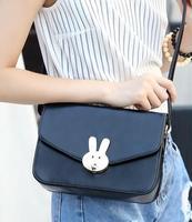 Hot Sale Newest Fashion PU Leather Handbags Women Rabbit Leather Shoulder Bag Cross Body Purse Handbag Messenger Bolsas Feminina