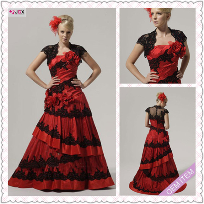 1235 1hs Fashion Traditional Floor length A LIne Cap sleeve ...