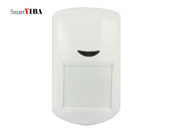 все цены на SmartYIBA 433Mhz Wireless PIR Motion Sensor Detector Wireless Infrared Alarm Sensor PIR Detector for WIFI GSM Alarm System