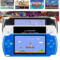 4.3 inch screen handheld Game Console mp4 player MP5 Console game player real 8GB support for psp game camera video e book
