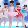 2016 New Arrival Crianças Bailarina Vestido de Moda Meninas Vestidos de Fios Finos Meninas Realizando Trajes Crianças Elegante Vestido de Suspender