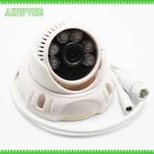 AHWVSE HD IP POE 1080P 2MP Camera IP POE Dome Camera Indoor IRCUT IP Cam 1080P Free Shipping