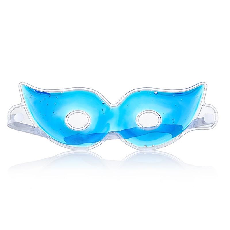 1pcs Ice Eye Mask Sleep Mask Fatigue Relief Remove Dark Circles Cold Eye Mask Cooling Eyes
